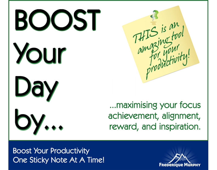 Boost Your Productivity One Sticky Note At A Time!